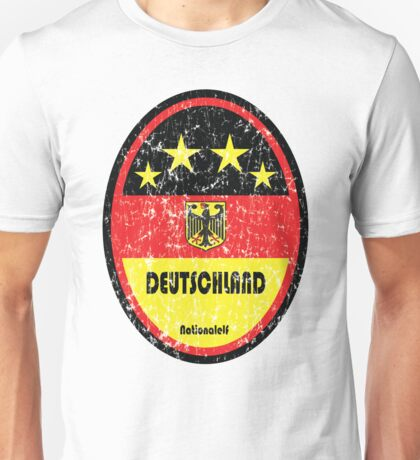 World Cup Football 3/8 - Deutschland (Distressed) Unisex T-Shirt