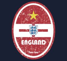 World Cup Football 6/8 - England (Distressed) Kids Tee
