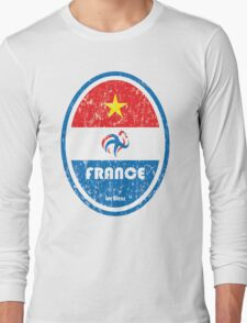 World Cup Football 7/8 - France (Distressed) Long Sleeve T-Shirt