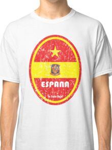 World Cup Football 8/8 - Espana (Distressed) Classic T-Shirt