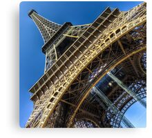 Eiffel Tower 3 Canvas Print