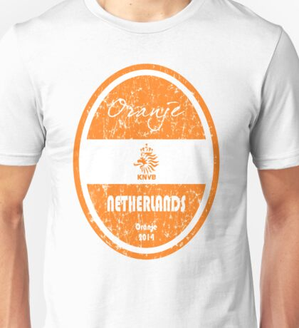 World Cup Football - Netherlands (Distressed) Unisex T-Shirt