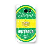 World Cup Football - Australia (distressed) Samsung Galaxy Case/Skin