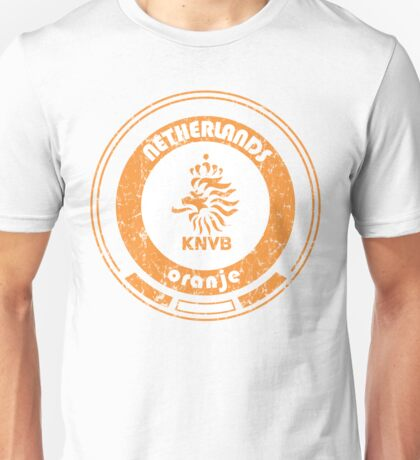 World Cup Football - Team Netherlands (distressed) Unisex T-Shirt
