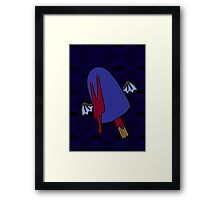 Gothsicles- Draculicious! Framed Print