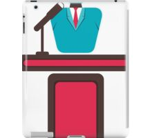 leadership concept iPad Case/Skin
