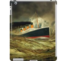 A digital painting of RMS Titanic, especially for Woodie iPad Case/Skin