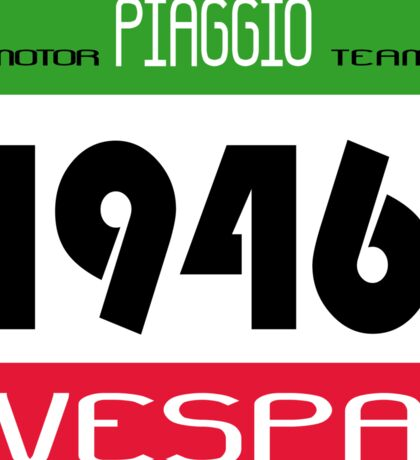VESPA 1946 Sticker