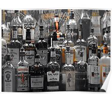 Pick Your Poison Alcohol Bar Poster