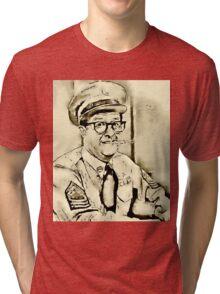 Phil Silvers Sargent Bilko Tri-blend T-Shirt