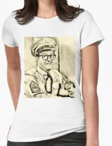 Phil Silvers Sargent Bilko Womens Fitted T-Shirt