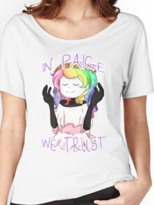 In Paige We Trust Women's Relaxed Fit T-Shirt