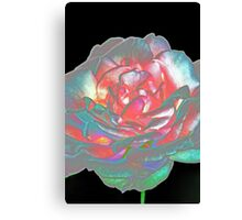 Rose petals - abstract Canvas Print