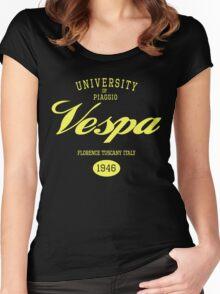 VESPA UNIVERSITY Women's Fitted Scoop T-Shirt