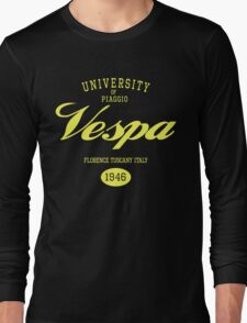 VESPA UNIVERSITY Long Sleeve T-Shirt