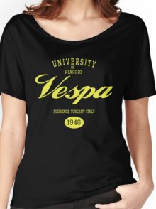 VESPA UNIVERSITY Women's Relaxed Fit T-Shirt