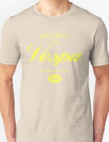 VESPA UNIVERSITY Unisex T-Shirt
