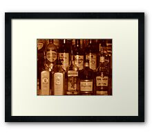 Old Wild West Saloon Framed Print