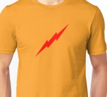 Red Lightning Bolt Unisex T-Shirt