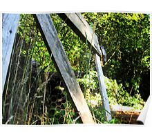 Mended Fences. Poster