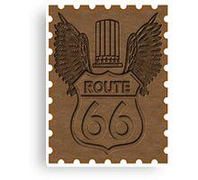Route 66 USA higway Canvas Print