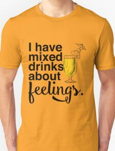 Mixed Drinks Unisex T-Shirt