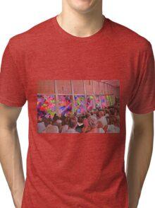 Abstract performance Tri-blend T-Shirt