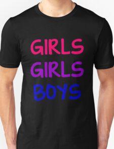 Music/Humour - Girls/Girls/Boys T-Shirt