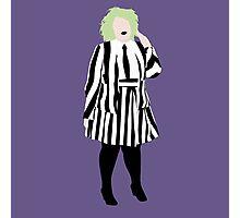 Plus Size Halloween - Beetlejuice Photographic Print