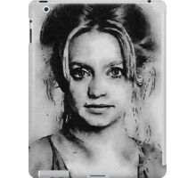Goldie Hawn Hollywood Icon by John Springfield iPad Case/Skin