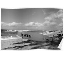 Beach Rescue Poster