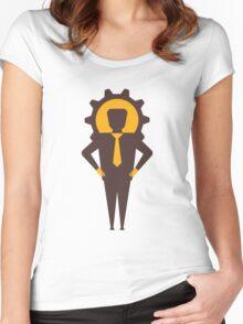 mechanical men Women's Fitted Scoop T-Shirt