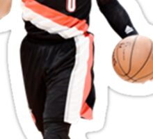 Damian Lillard Portland Trail Blazers NBA Sticker