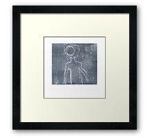 Hello Alien Framed Print