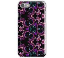 Abstract Floral Swirls and Flourishes  iPhone Case/Skin