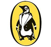penguin : gentleman Photographic Print