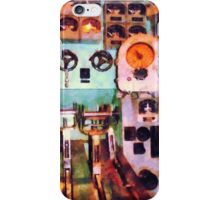Electrical Control Room iPhone Case/Skin