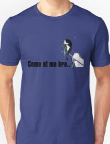 Left 4 dead spitter funny zombie - come at me bro T-Shirt