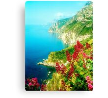 Italy - Coast of Amalfitana Canvas Print
