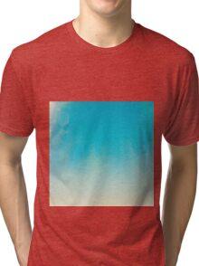 Blue Texture Tri-blend T-Shirt