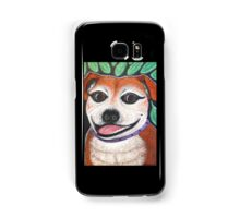 Gracie May Staffy Dog under the lime tree Samsung Galaxy Case/Skin