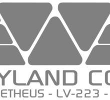 WEYLAND CORP - Clean Sticker