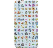 Pokemon Sprite Grid iPhone Case/Skin