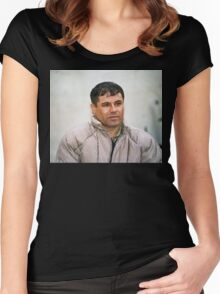 El chapo Women's Fitted Scoop T-Shirt