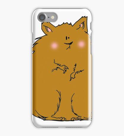 Fat hamster iPhone Case/Skin