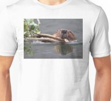 Beaver and Reflection Unisex T-Shirt