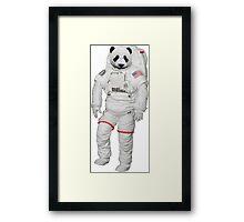 Space Panda 0.1 Framed Print