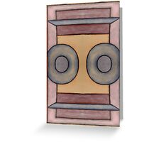ABSTRACT 224 Greeting Card