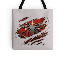Spiderman Chest Ripped Tote Bag