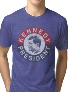 Vintage 1960 Kennedy for President T-Shirt Tri-blend T-Shirt